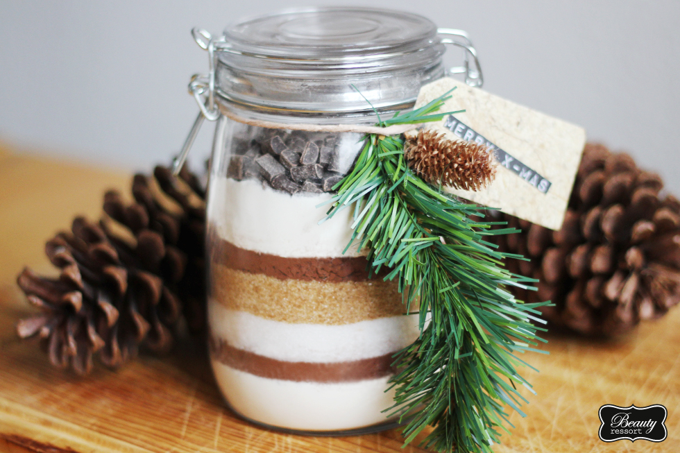 Brownies Im Glas : walking in a winterbloggerland diy geschenk brownie im glas verlosung beautyressort ~ Orissabook.com Haus und Dekorationen