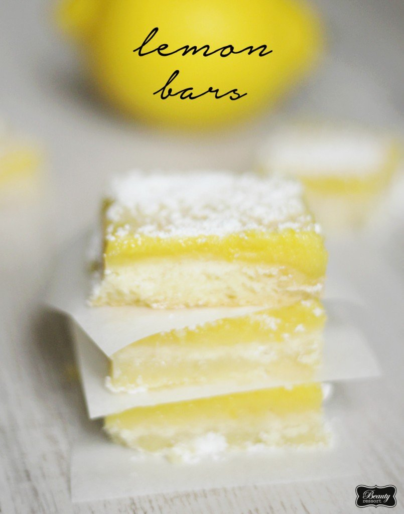 beauty ressort lemon bars