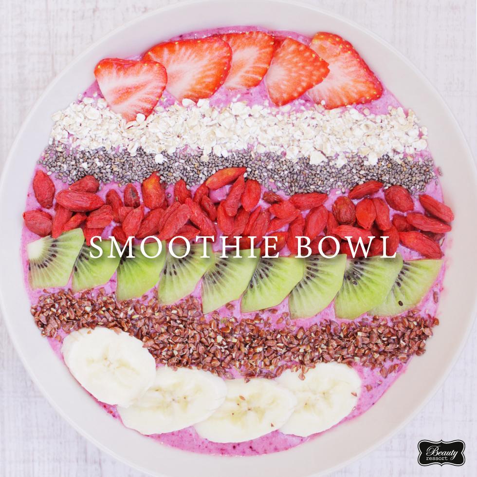 gesunde smoothiebowl
