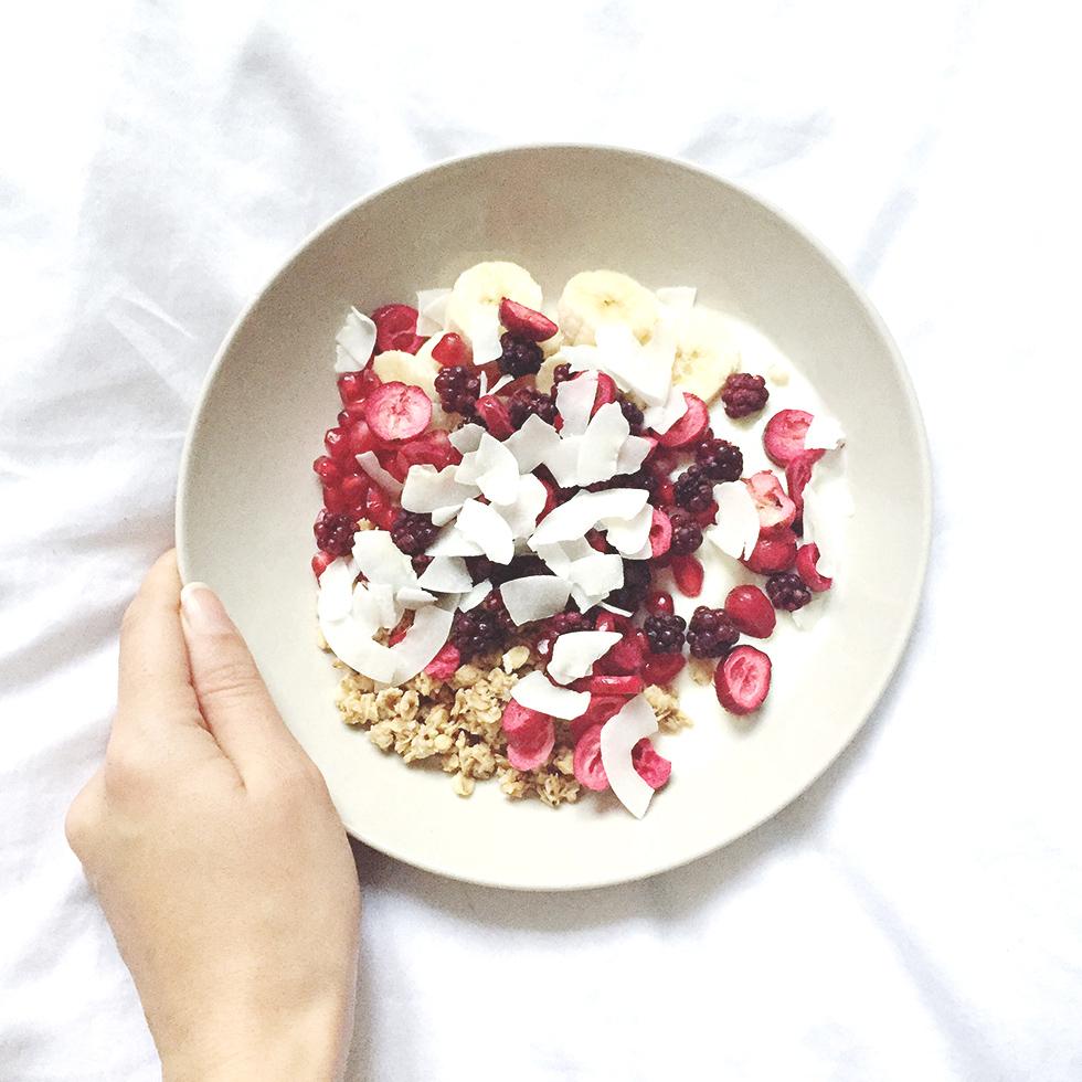 A Lazy Morning-Breakfast